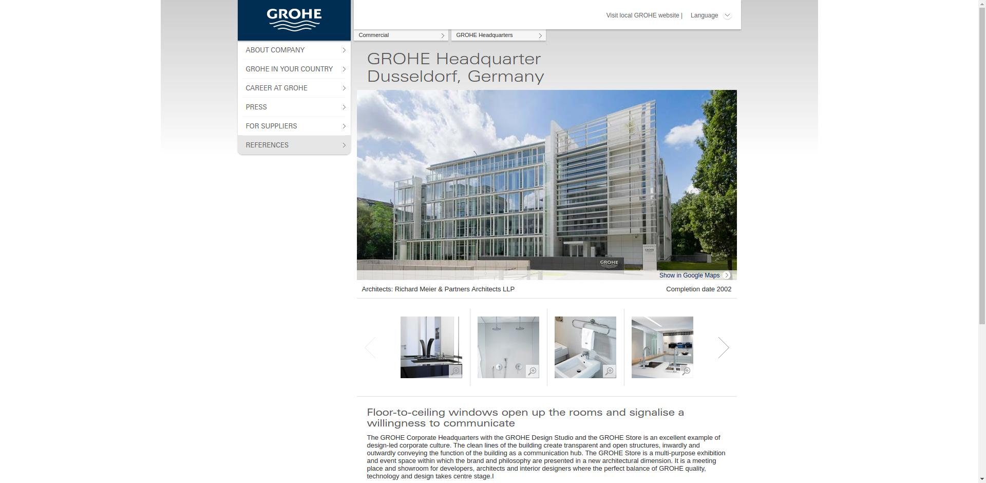 Grohe company profile - Office locations, Competitors, Financials ...