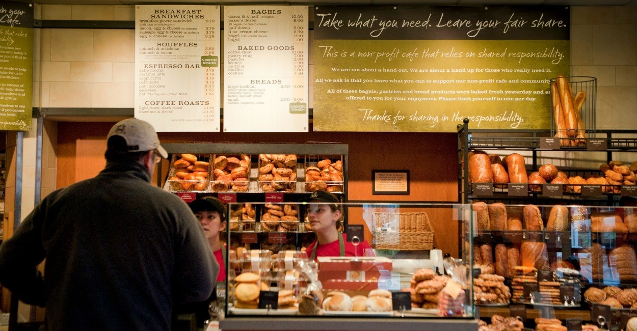 panera bread profit margin