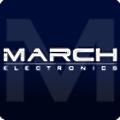March Electronics logo
