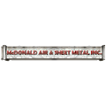 McDonald Air & Sheet Metal logo