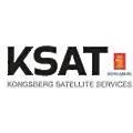 Kongsberg Satellite Services logo