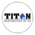 Titan Restoration of Arizona logo