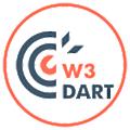 W3Dart logo