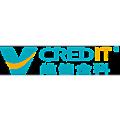 V CREDIT logo