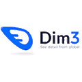Dim3 logo