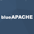 blueAPACHE logo