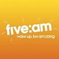 five:am logo