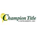 Champion Title & Settlements Inc logo