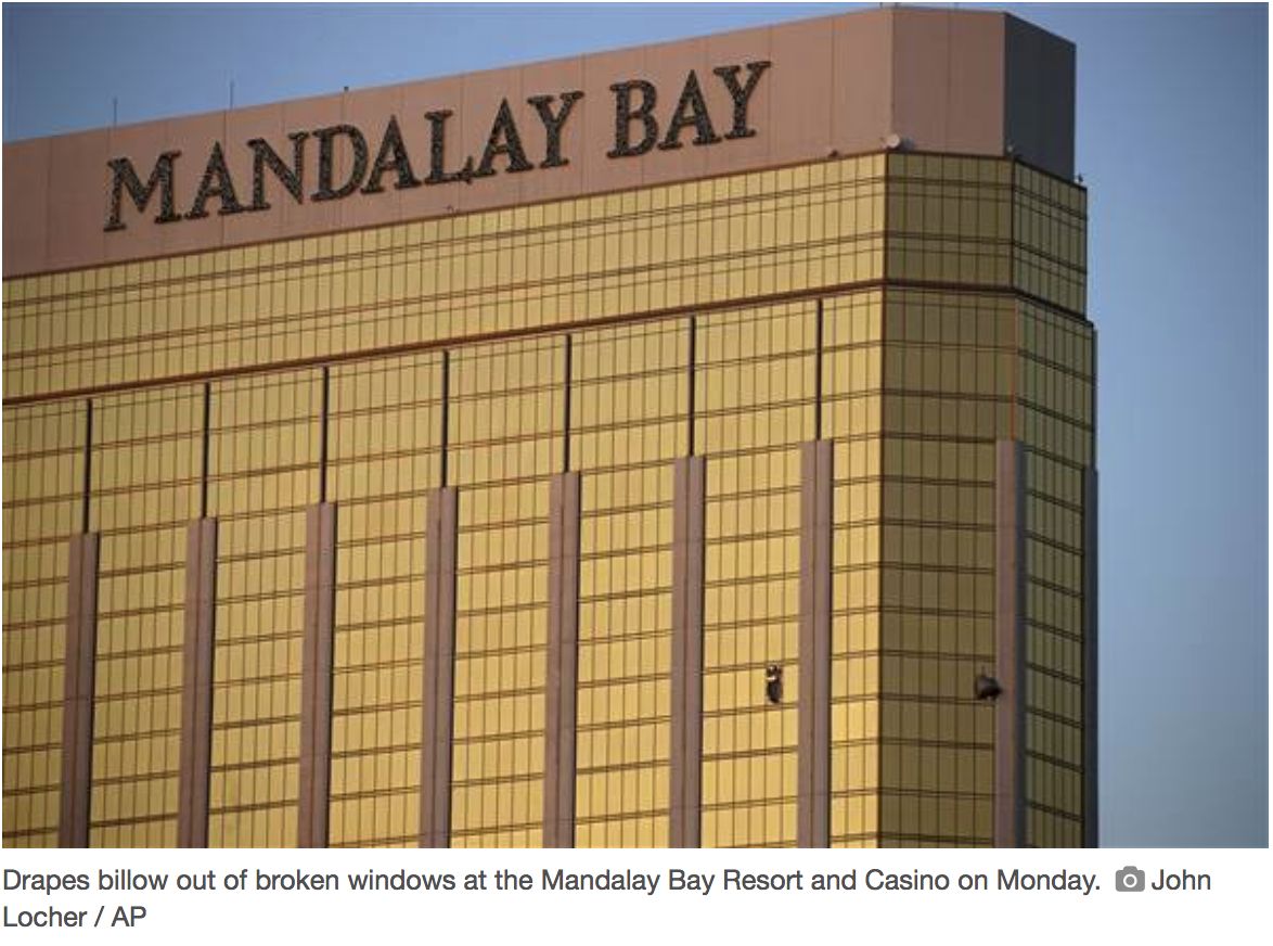 Las Vegas Shooter's Position in Mandalay Bay Room Amplified Massacre